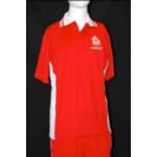 HOUSE POLO SHIRT (With embroidered Crest)
