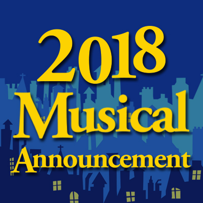 Announcement: 2018 College Musical