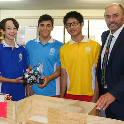 ROBOCUP TEAM INVITED TO REPRESENT AUSTRALIA AT THE JUNIOR INTERNATIONALS