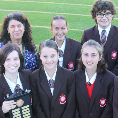 Year 8 da Vinci Decathlon Team win National Finals!